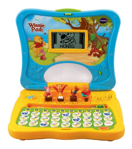 vtech 80 069104 lerncomputer winnie puuhs abc laptop. Black Bedroom Furniture Sets. Home Design Ideas