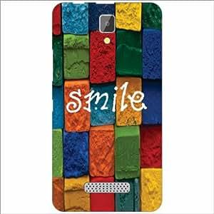 Lenovo A2010 Back Cover - Smile Designer Cases