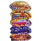 Pasricha Handlooms Multicolor Printed Single Bed Fleece Blanket Set Of 5