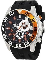 Stuhrling Original Men's 287A.331657 Sportsman Nautico Swiss Quartz Multi-Function Black Watch