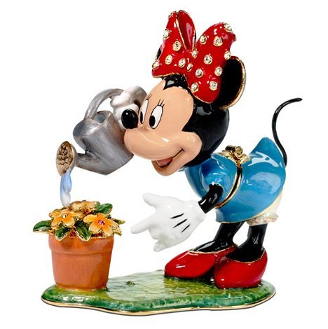 D56 Bejeweled Minnie watering flower pot Trinket Box cy7c68300c 56lfxc cy7c68300c 56