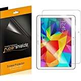 [3-Pack] SUPERSHIELDZ- High Definition Clear Screen Protector For Samsung Galaxy Tab 4 10.1 inch + Lifetime Replacements Warranty [3-PACK] - Retail Packaging