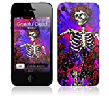 Zing Revolution MS-GRFL70133 Grateful Dead - Woodcut Cell Phone Cover Skin for iPhone 4/4S