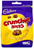 Cadbury Crunchie Rocks Sharing Bag 130 g (Pack of 5)