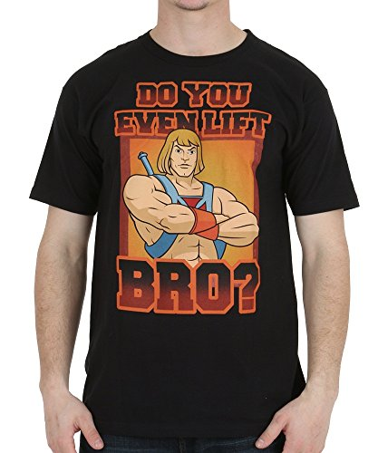 Men's He-Man Do You Even Lift Bro! Funny T-Shirt - S to XXL