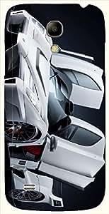 Attractive multicolor printed protective REBEL mobile back cover for Samsung I9190 Galaxy S4 mini D.No.N-L-18379-S4M