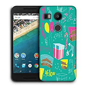 Snoogg Red Spots Pattern Printed Protective Phone Back Case Cover For LG Google Nexus 5X