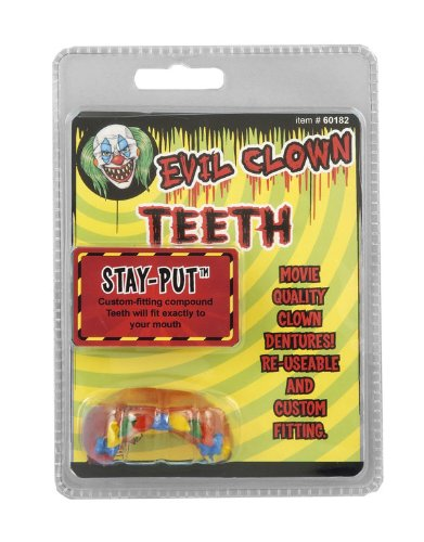 Evil Clown Rainbow Teeth - 1