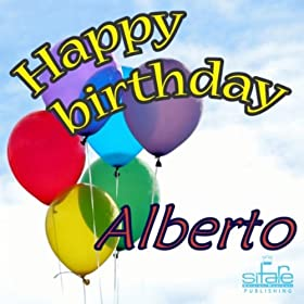 Amazon.com: Happy Birthday to You (Birthday Alberto