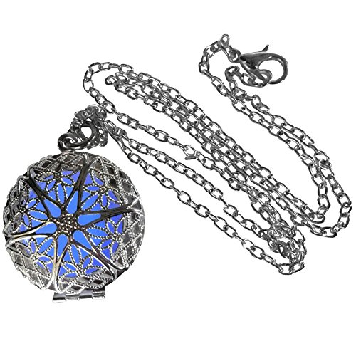 UmbrellaLaboratory Women's Fairy Magical Fairy Glow In The Dark Necklace
