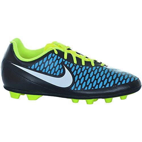 Nike, Scarpe da calcio bambini BLACK/WHITE-BLUE LAGOON-VO 38