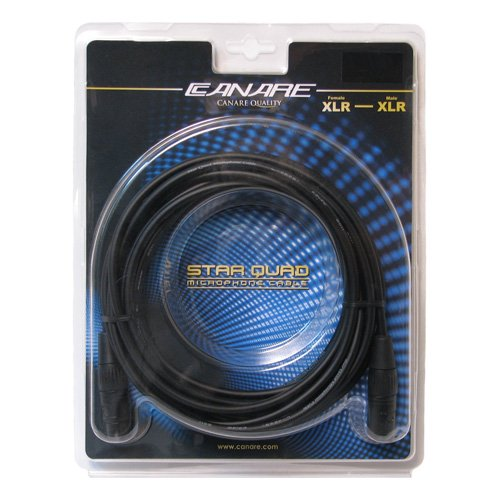 Canare Mc15F L-4E6S Star Quad Xlr Microphone Cable (15 Feet)