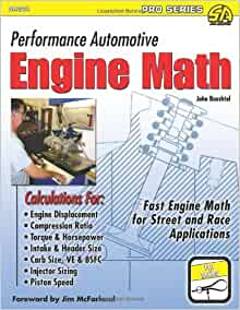 Performance Automotive Engine Math Sa Design Pro