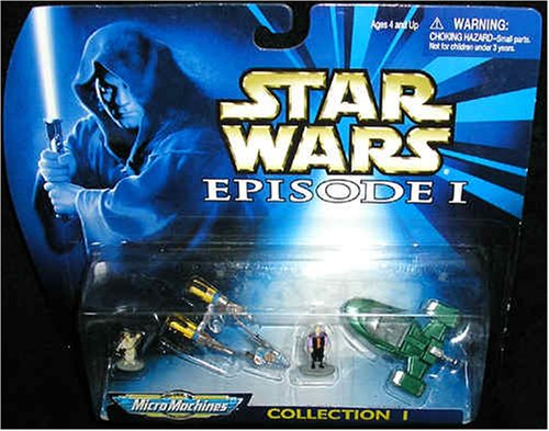 Star Wars Episode I Micro Machines Collection 1 1998 - Vehicles and Figures