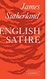 English Satire (0521091756) by Sutherland, James