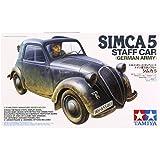 1/35 ミリタリーミニチュアシリーズ No.321 ドイツ軍 スタッフカー シムカ 5 35321