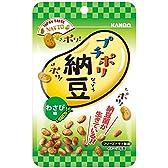 カンロ プチポリ納豆 わさび味 18g×6袋