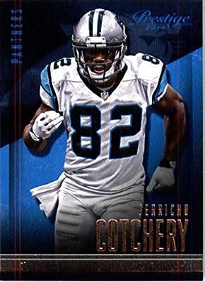 2014 Panini Prestige Football Card # 157 Jerricho Cotchery Carolina Panthers