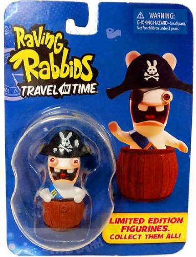 "Raving Rabbids ""Travel in Time"" Collectible Figurine - ""Pirate"" - 1"
