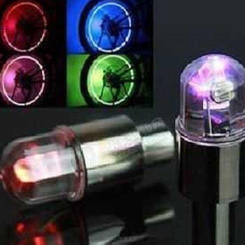 Coffled® 1Pair Motorcycle Cycling Bike Bicycle Car Led Lamp Wheel Torch Lights Tyre Stem Valve