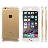 Highend berry amazon限定 iPhone 6 4.7インチ ストラップ ホール 保護キャップ 一体型 ソフト TPU ケース Arc クリア