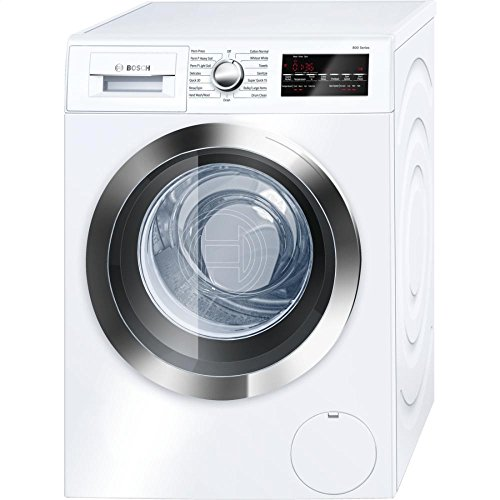 Bosch WAT28402UC 800 2.2 Cu. Ft. White Stackable Front Load Washer - Energy Star (Front Load Compact Washer compare prices)