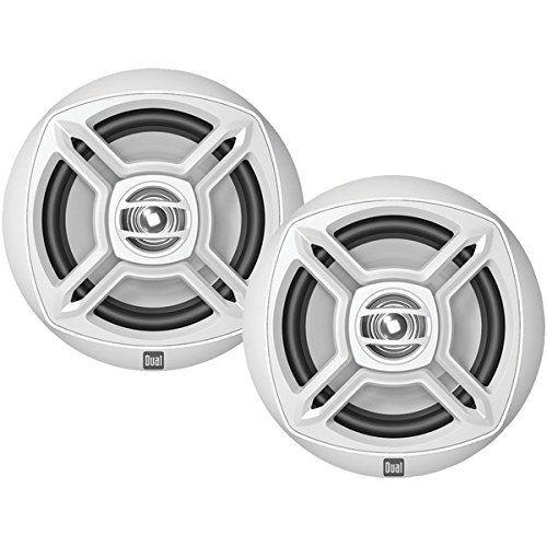 "DUAL DMP672 Marine DMP Series 6.5"" Dual-Cone Speakers"