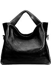 JiYe Womens 2P3002 1st Genuine Leather Leisure Top-Handle Bags