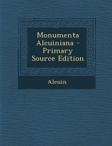 Monumenta Alcuiniana