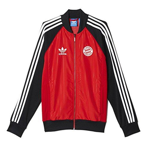 Adidas FC Bayern München Superstar Men Track Jacket (Medium) (Adidas Vintage Jacket compare prices)