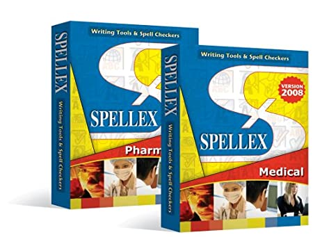 Spellex Medical and Pharmaceutical Spell Checker for Microsoft Word