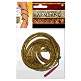 Snake Armband - Gracious God & Goddess (Color: Gold, Tamaño: One Size)