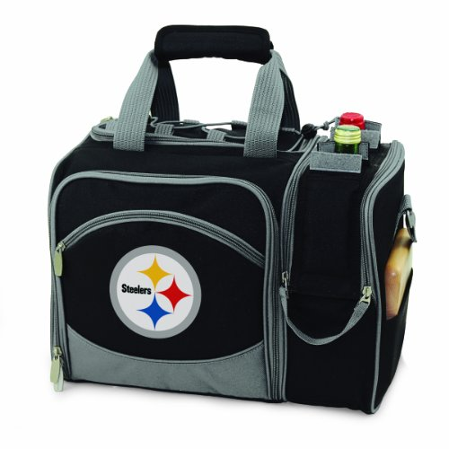 Picnic Time Pittsburgh Steelers Malibu Insulated Picnic Pack at SteelerMania