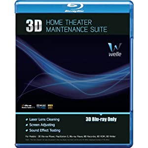 Welle - 3D Blu-ray DISC Lens Cleaner