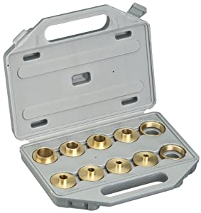 Shop Fox D3117 Brass Guide Bushing Set