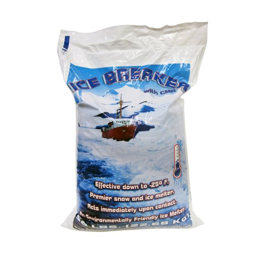 Snow Joe 50LBCACL Premier Snow and Ice Melter Calcium Chloride, 50-Pound