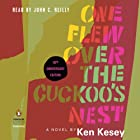 One Flew Over the Cuckoo's Nest: 50th Anniversary Edition (       UNABRIDGED) by Ken Kesey, Robert Faggen (introduction) Narrated by John C. Reilly