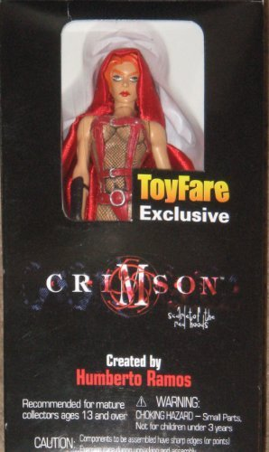 Crimson Toyfare Exclusive Action Figure Humberto Ramos