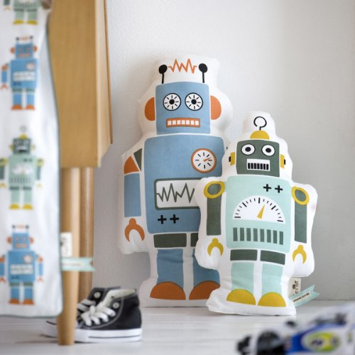Mr. Large Robot Cushion