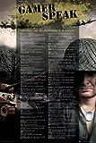 Gaming Poster Gamer Speak + Additional Item multicoloured
