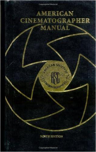 American Cinematographer Manual, 9th Edition
