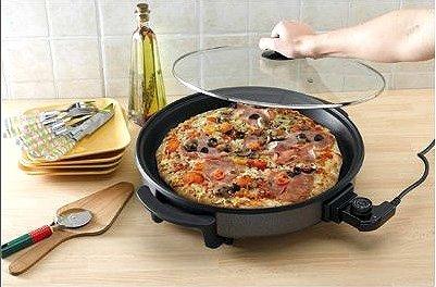 Four à pizza électrique - Diamètre 40cm