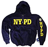 NYPD Shirt Hoodie Sweatshirt Navy Blue Authentic Clothing Apparel Officially Licensed Merchandise by The New York City Police Department