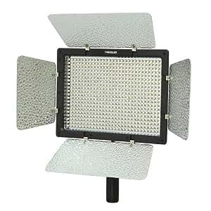 Yongnuo YN-600, 3200K - 5500K color temperature LED video light for Camcorder or DSLR Cameras