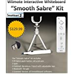 "Wii Remote Interactive Whiteboard – ""Smooth Sabre"" Kit"