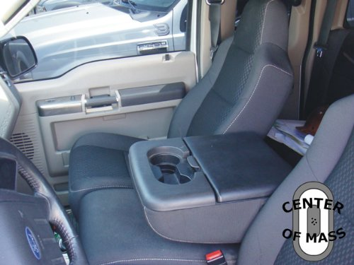 Console Vault safe for F-250/F-350 Super Duty (Fold Down Arm Rest Console) (2002 F250 Center Console compare prices)