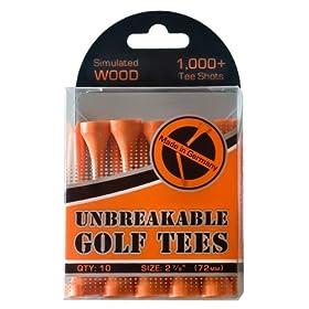 """Unbreakable Golf Tees - 2.7/8"""""""