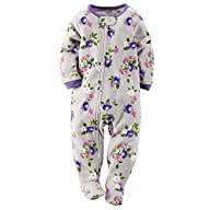Carters Baby Girls Fleece Pajamas (3T…