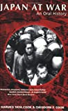 img - for Japan At War by Haruko Taya Cook and Theodore Failor Cook (2000-08-02) book / textbook / text book