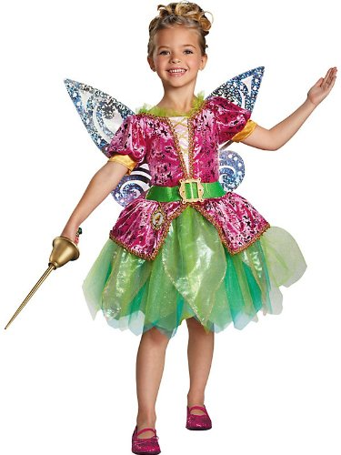 Disguise Disney's The Pirate Fairy Pirate Tinkerbell Deluxe Girls Costume